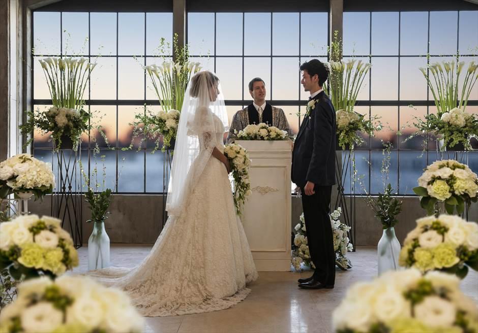 Tokyo Resort Wedding vence Baysideスタジオ・ヴァンス・ベイサイド <新木場>